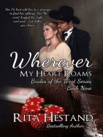 Wherever My Heart Roams (Brides of the West Series Book Nine)
