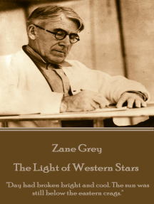 """The Light of Western Stars: """"Day had broken bright and cool. The sun was still below the eastern crags."""""""