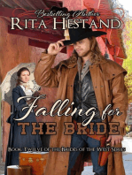 Falling for the Bride (Brides of the West Series Book Twelve)