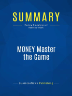 MONEY Master the Game (Review and Analysis of Robbins' Book)
