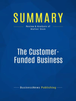 The Customer-Funded Business (Review and Analysis of Mullins' Book)