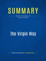 The Virgin Way (Review and Analysis of Branson's Book)