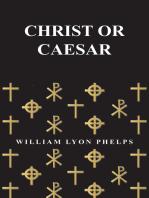 Christ or Caesar