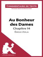 Au Bonheur des Dames de Zola - Chapitre 14
