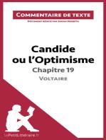 Candide ou l'Optimisme de Voltaire - Chapitre 19