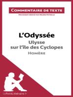 L'Odyssée d'Homère - Ulysse sur l'île des Cyclopes
