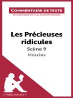 Les Précieuses ridicules de Molière - Scène 9