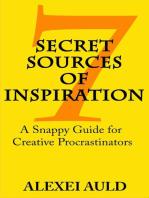 7 Secret Sources of Inspiration