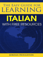 The Easy Guide for Learning Italian with Free Resources