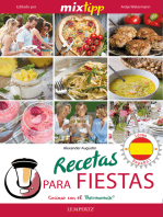 MIXtipp: Recetas para fiestas (español): cocinar con el Thermomix TM 5 & TM 31