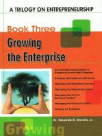 A Trilogy On Entrepreneurship