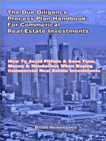 The Due Diligence Process Plan Handbook for Commercial Real Estate Investments