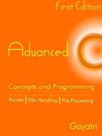 Advanced C Concepts and Programming