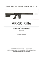 AR-10 Rifle Owner's Manual
