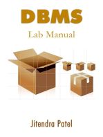 DBMS Lab Manual
