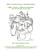 220 Chromatic Exercises + 1165 Jazz Lines Phrases for the Modern Improviser