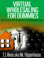 Virtual Wholesaling for Dummies