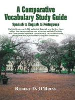 A Comparative Vocabulary Guide: Spanish to English to Portuguese