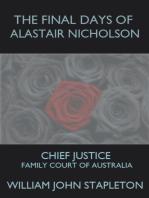 The Final Days of Alastair Nicholson