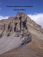 Einsame Gipfelziele in Graubünden
