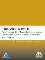 The Amicus Brief