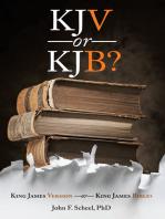 KJV or KJB?