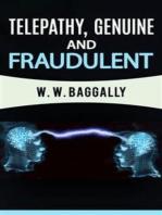 Telepathy, genuine and fraudulent