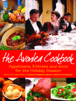 Avonlea Cookbook