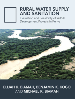 Rural Water Supply and Sanitation: Evaluation and Feasibility of WASH Development Projects in Kenya