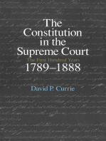 The Constitution in the Supreme Court