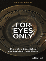 """""""For eyes only"""""""