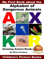 My First Book about the Alphabet of Dangerous Animals