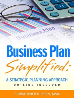 Business Plan Simplified : A Strategic Planning Approach (With Outline)