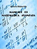 Manuale di matematica avanzata
