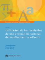 Evaluaciones nacionales del rendimiento académico Volumen 5: Utilización de los resultados de una evaluación nacional del rendimiento académico