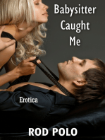 Babysitter Caught Me (Erotica)