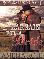 A Bargain For A Bride (Montana Passion, Book 1)