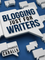 Blogging Just for Writers