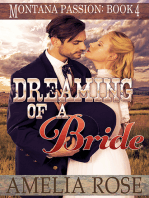 Dreaming of a Bride (Montana Passion, Book 4)