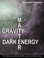 Matter, Gravity and Dark Energy