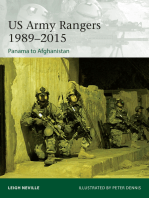 US Army Rangers 1989–2015