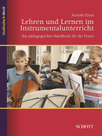 Lehren und Lernen im Instrumentalunterricht: Ein pädagogisches Handbuch für die Praxis