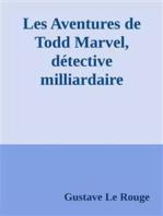 Les Aventures de Todd Marvel, détective milliardaire