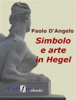 Simbolo e arte in Hegel