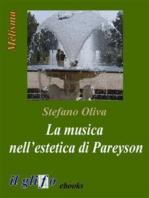 La musica nell'estetica di Pareyson