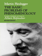 The Basic Problems of Phenomenology, Revised Edition