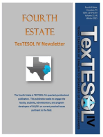 The Fourth Estate, Winter 2015 Vol 31, Issue 4