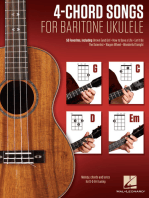 4-Chord Songs for Baritone Ukulele (G-C-D-Em)