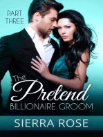The Pretend Billionaire Groom