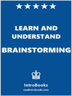 Learn and Understand Brainstorming